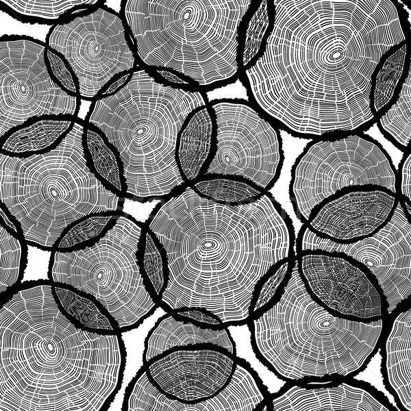 árbol anillos ilustración plantilla anual informes Foto stock © pashabo