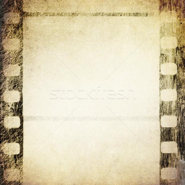 Foto stock: Grunge · película · marco · resumen · retro · suciedad