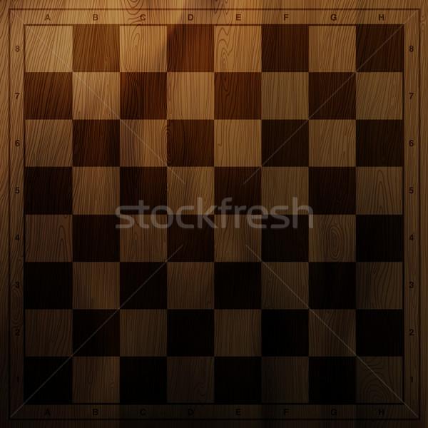 Vintage tablero de ajedrez eps10 textura luz diseno Foto stock © pashabo
