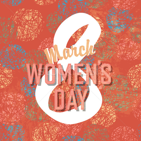 8 March, Women's Day Stock photo © pashabo