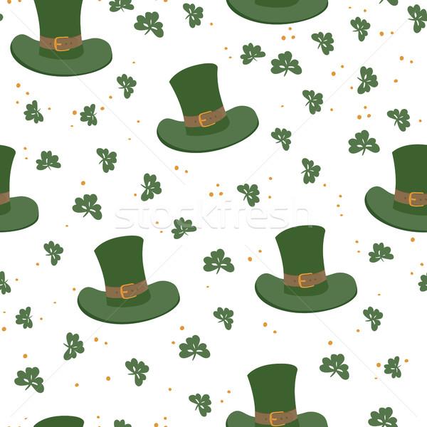 Saint Patrick's Day seamless pattern. Celebration design for Mar Stock photo © pashabo