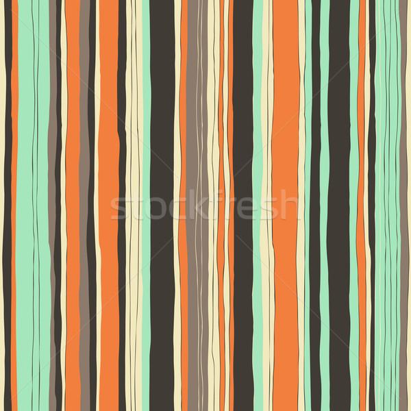 Retro Farben.Abstrakten Retro Farben Streifen Muster Vektor