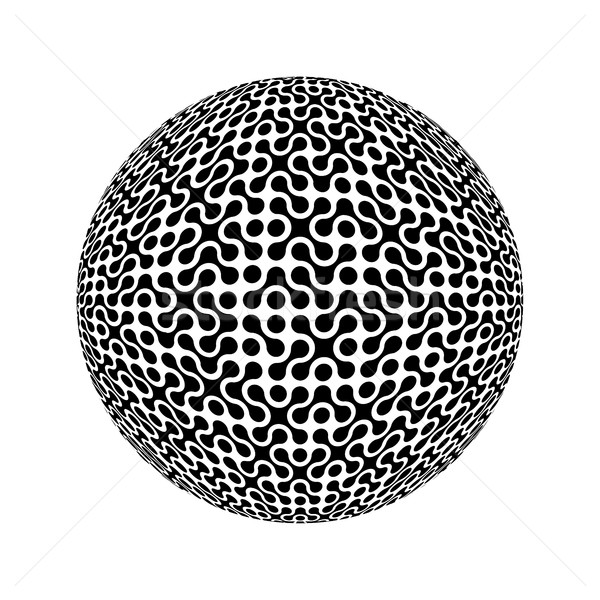 Sphere, collected from many elements. Vector illustration Stock photo © pashabo