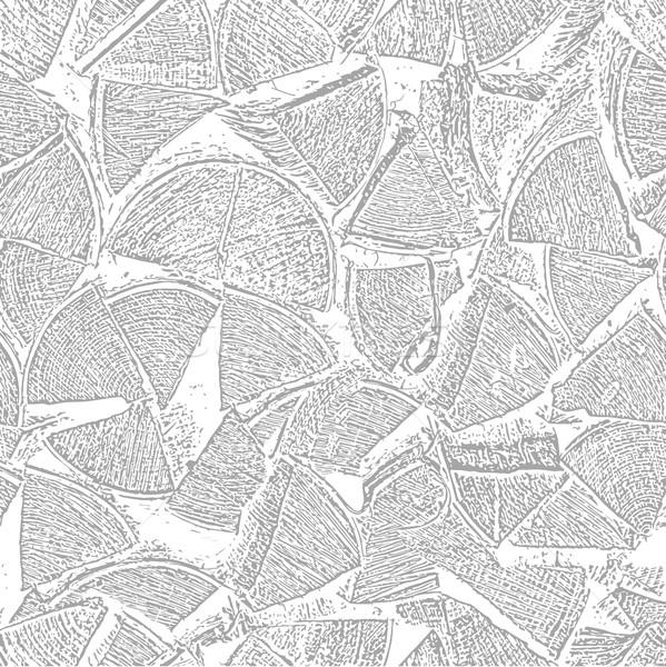 Végtelenített boglya fa tűzifa textúra vektor Stock fotó © pashabo