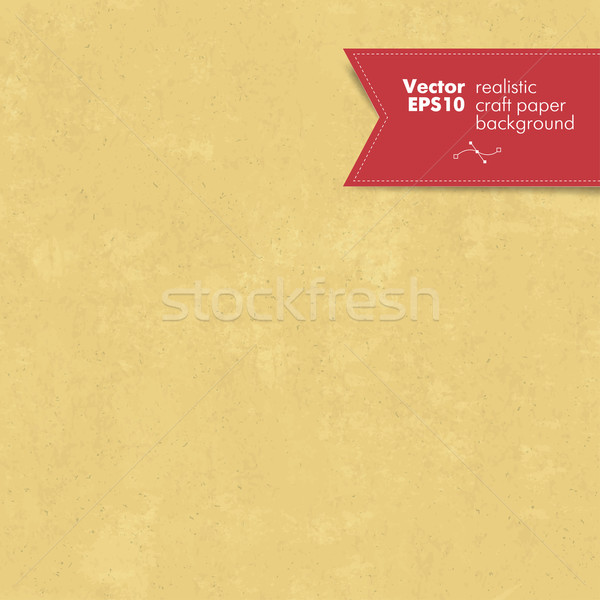 Seamless craft paper texture Stock photo © pashabo