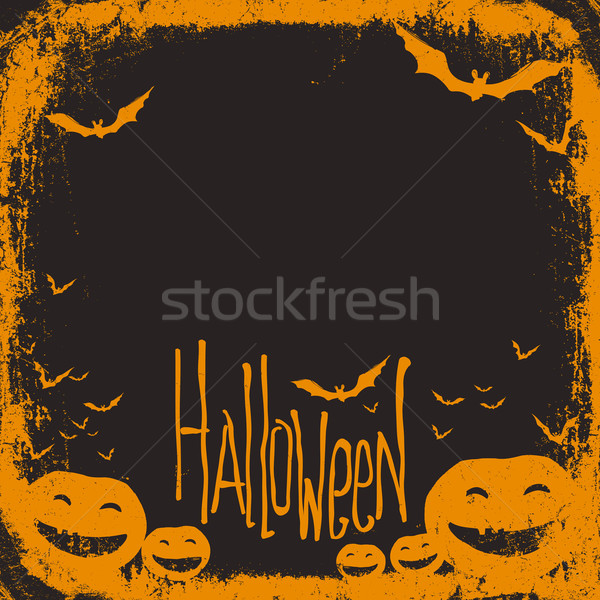 Halloween themed background with space for text Stock photo © pashabo