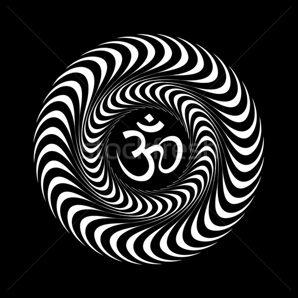 Om symbol Stock photo © pashabo