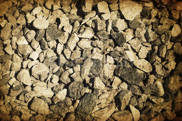 Vintage gravel vintage background Stock photo © pashabo