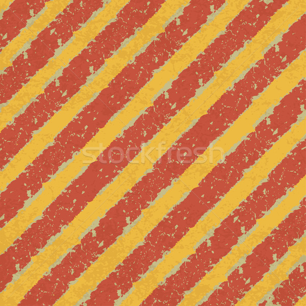 Yellow and Red Hazard Lines Abstract Background. Vector, EPS10 Stock photo © pashabo