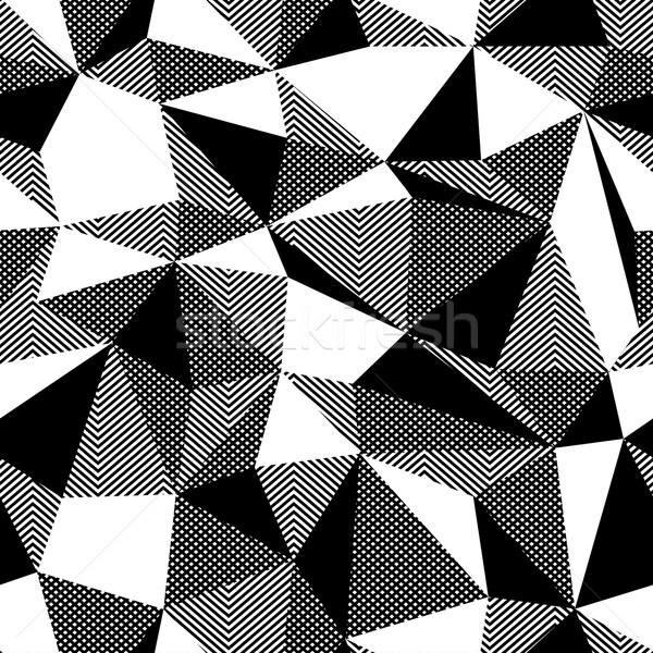 Triangle colorful pattern, seamless Stock photo © pashabo