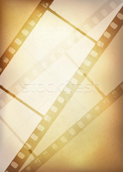 Stock fotó: Klasszikus · filmszalag · eps10 · textúra · tapéta · minta