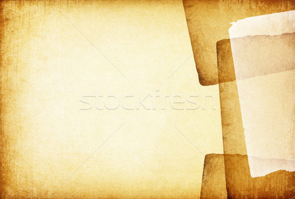 Vintage old papers abstract background Stock photo © pashabo