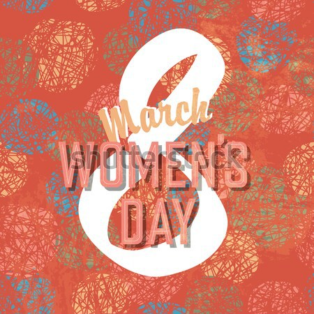 8 March, Women's Day Background Stock photo © pashabo