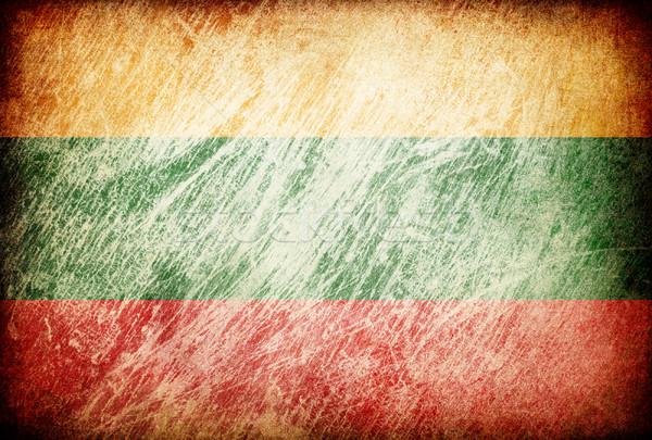 Photo stock: Grunge · pavillon · horizons · Lituanie · texture · numérique
