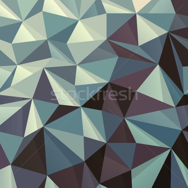 треугольник аннотация геометрическим рисунком свет дизайна обои Сток-фото © pashabo