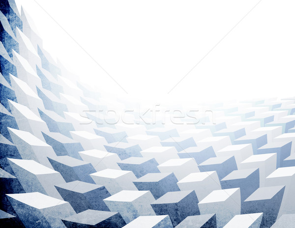Vintage 3D background  (letter format, horizontal orientation) Stock photo © pashabo