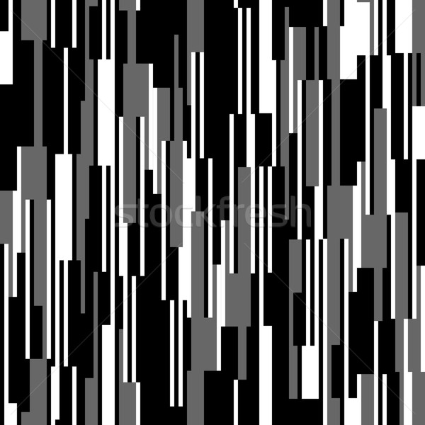 Seamless black and white pattern, vertical lines Stock photo © pashabo