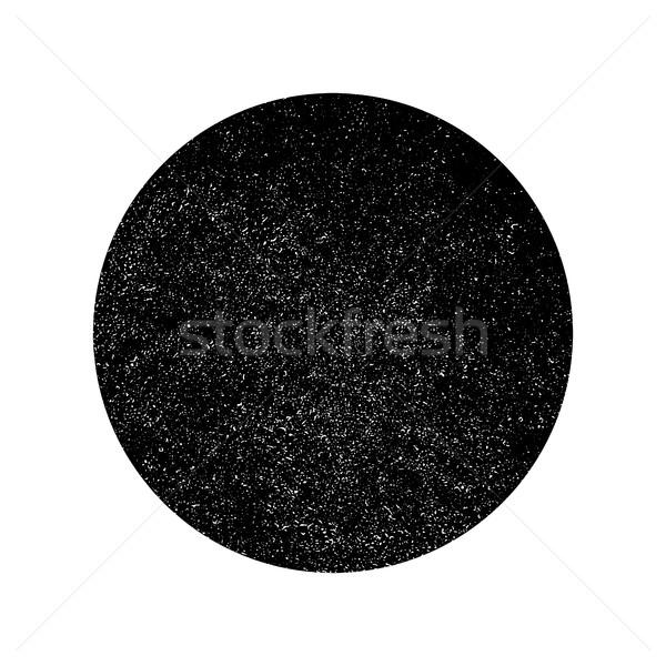 Grunge monokróm kör absztrakt textúra fehér Stock fotó © pashabo