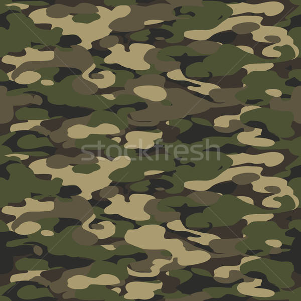 Forest texture background seamless. Camouflage pattern backgroun Stock photo © pashabo