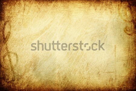 Zdjęcia stock: Grunge · musical · przestrzeni · tekst · obraz · metal