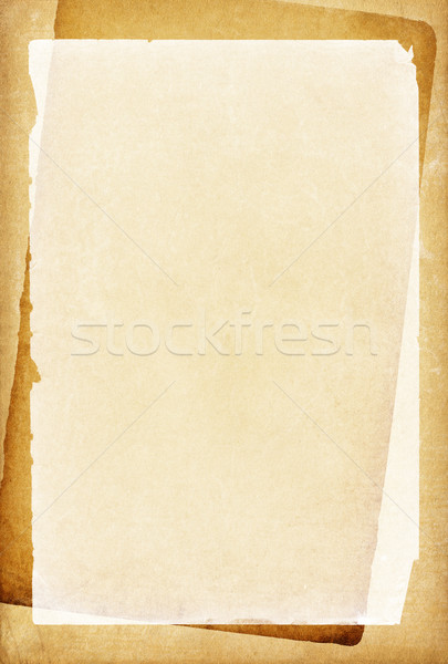 Vintage papers with blank place for text. Stock photo © pashabo