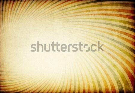 Vintage kolorowy szeroki papieru tekstury projektu Zdjęcia stock © pashabo