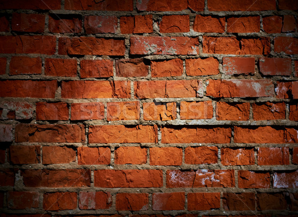 Weathered stained old brick wall background  Stock photo © pashabo