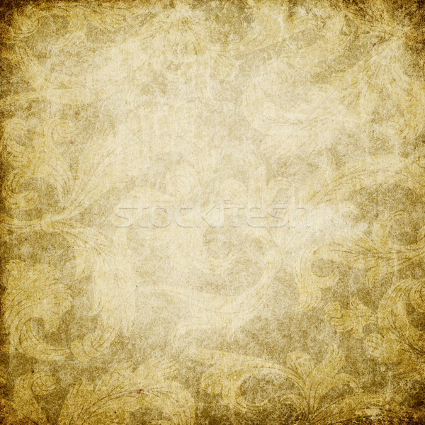 Grunge vintage decorated background with space for text.  Stock photo © pashabo
