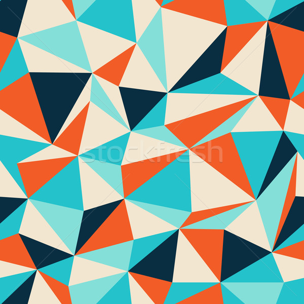 Triangle seamless pattern Stock photo © pashabo