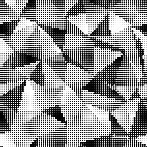 Triangle Halftone Background. Design element Stock photo © pashabo