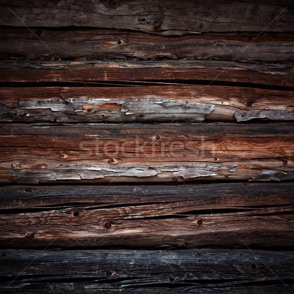 old logs background Stock photo © pashabo