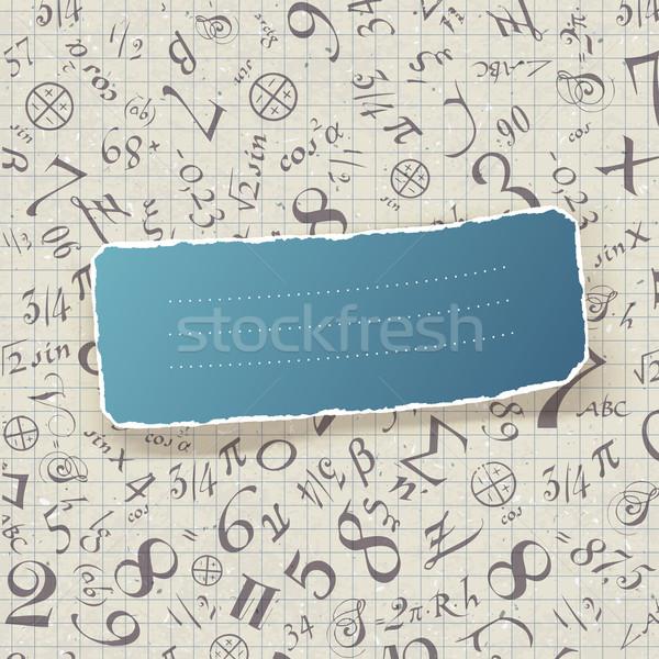 Terug naar school illustratie vector eps10 kinderen kinderen Stockfoto © pashabo