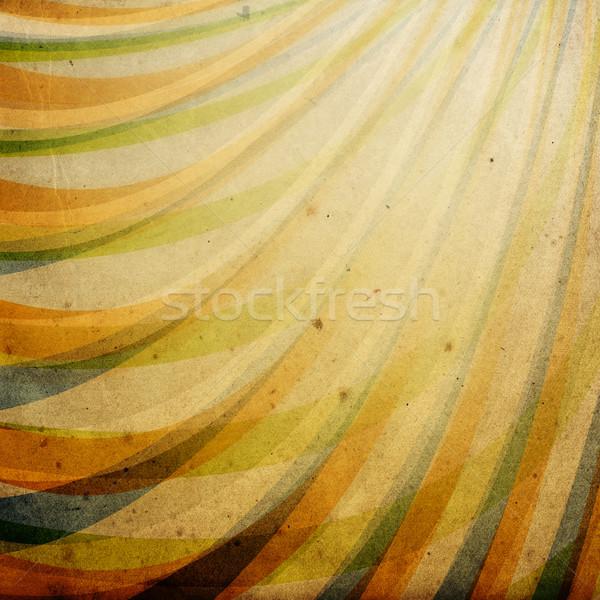Bağbozumu kağıt dokusu dekore edilmiş süs soyut doku Stok fotoğraf © pashabo
