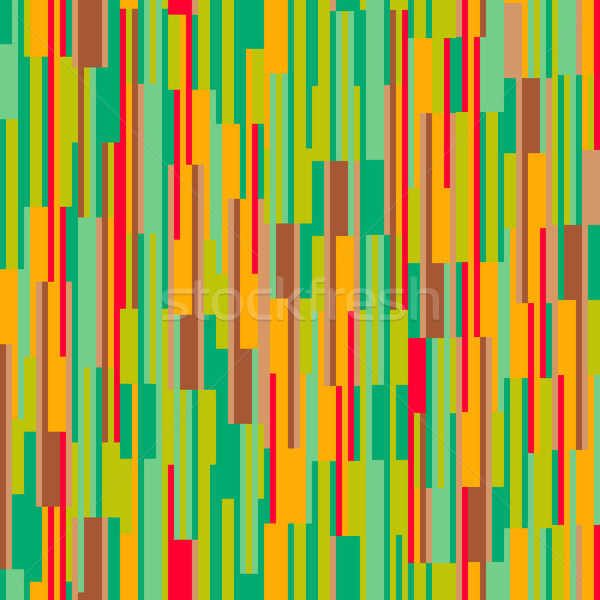 Colorful seamless pattern with vertical lines Stock photo © pashabo