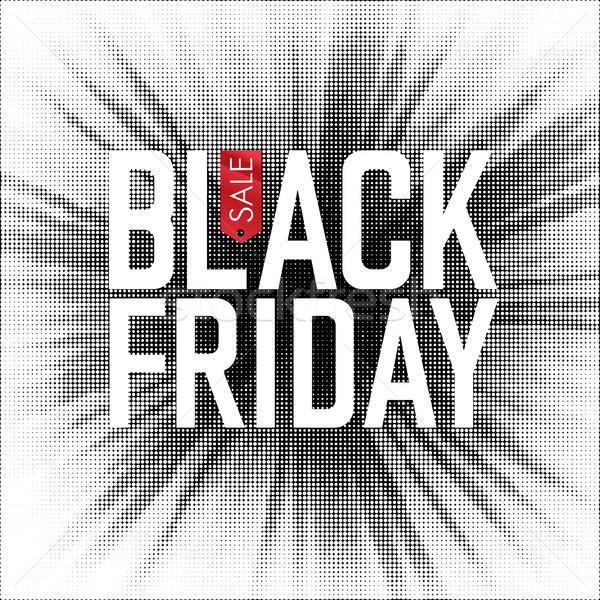 черная пятница продажи реклама плакат торговых целевой Сток-фото © pashabo