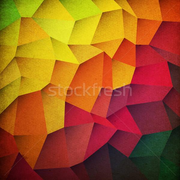 Гранж красочный дизайна фон обои цифровой Сток-фото © pashabo