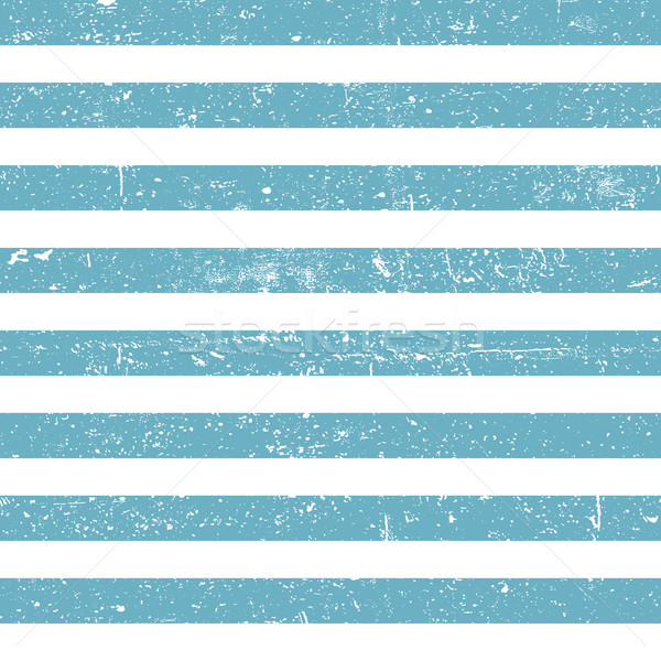 Seamless marine background. Blue grunge lines pattern Stock photo © pashabo