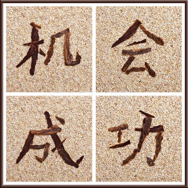 中国語 成功 作業 ストックフォト © Pasiphae