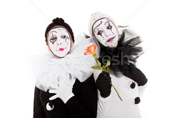 Deux une fleur autre couple fête Photo stock © Pasiphae