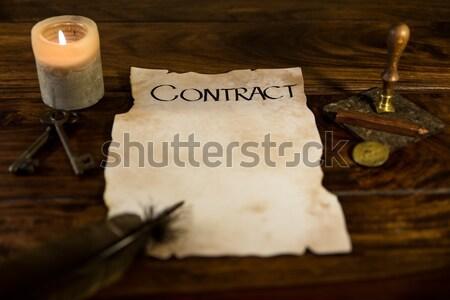 historically signature Stock photo © Pasiphae