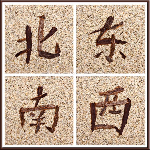 中国語 文字 方向 デザイン 背景 ストックフォト © Pasiphae