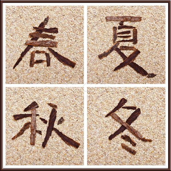 китайский характер весны Сток-фото © Pasiphae