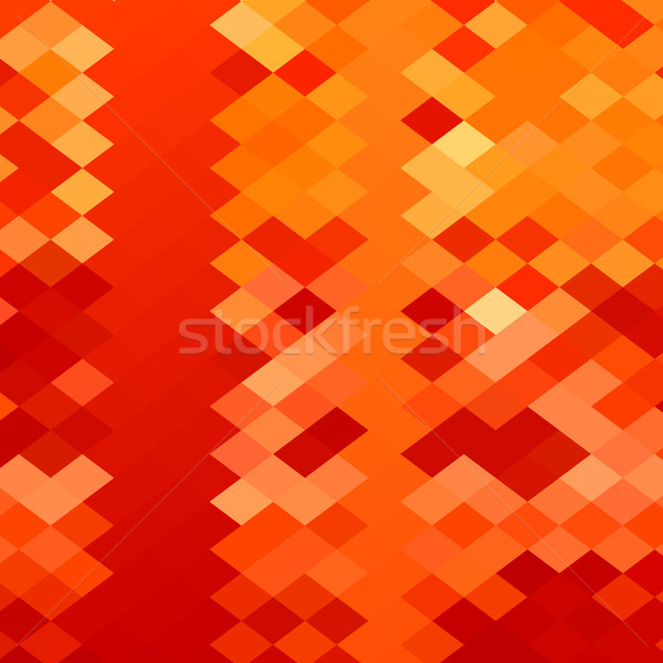Red Weave Abstract Low Polygon Background Stock photo © patrimonio