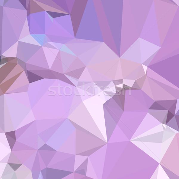 électriques lavande résumé faible polygone style Photo stock © patrimonio