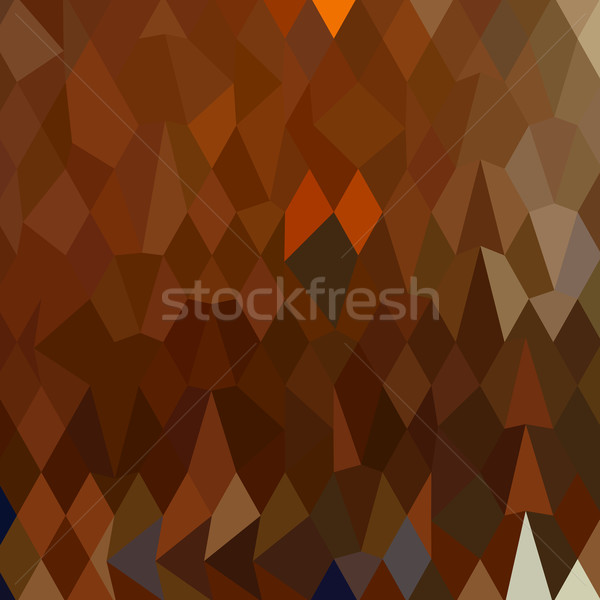 Brown Forest Abstract Low Polygon Background Stock photo © patrimonio