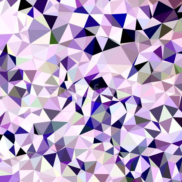 Blue Violet Abstract Low Polygon Background Stock photo © patrimonio