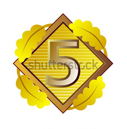 Rok gwarancja ilustracja słowo zestaw wewnątrz Zdjęcia stock © patrimonio
