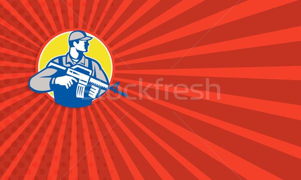 Security Consultant Mercenary Soldier Stock photo © patrimonio