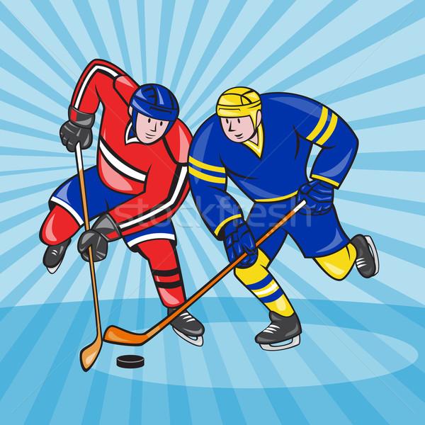 С хоккеем рисунки