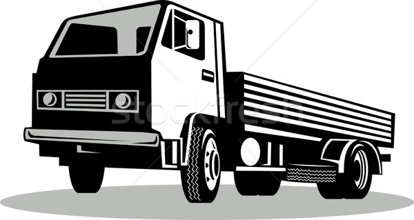 Truck viewed from a low angle Stock photo © patrimonio